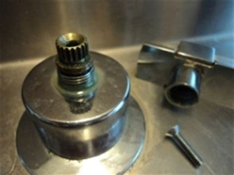 faucet handle difficult to turn now stuck doityourself