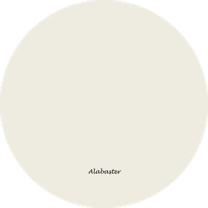 sherwin williams alabaster a perfect white creamy white