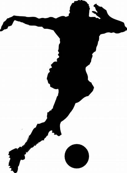 Football Clip Player Soccer Clipart Clker Domain
