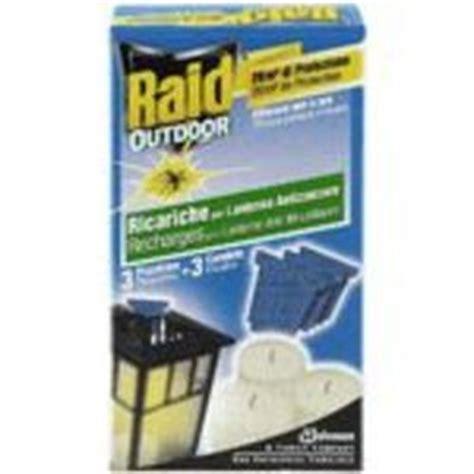 raid lanterne recharge anti moustiques usage exterieur
