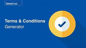 Free Terms  U0026 Conditions Generator