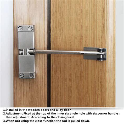 adjustable spring door closer automatic strength hinge
