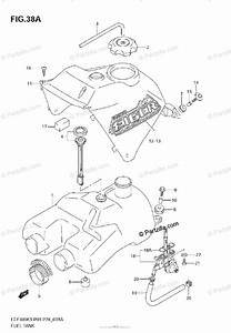 Suzuki Atv 2005 Oem Parts Diagram For Fuel Tank  Model K4