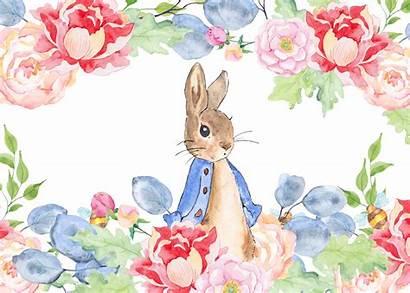 Easter Watercolor Clipart Peter Rabbit Clip Transparent