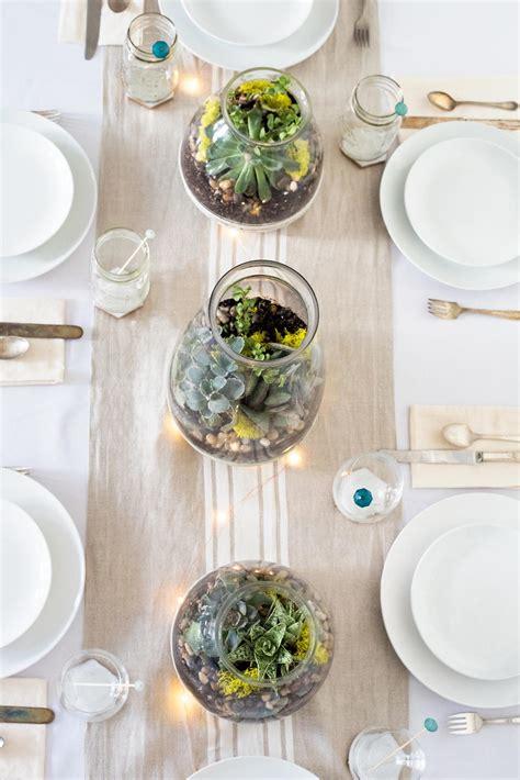 elegant  easy succulent table centerpieces favecraftscom