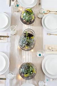 Elegant, And, Easy, Succulent, Table, Centerpieces