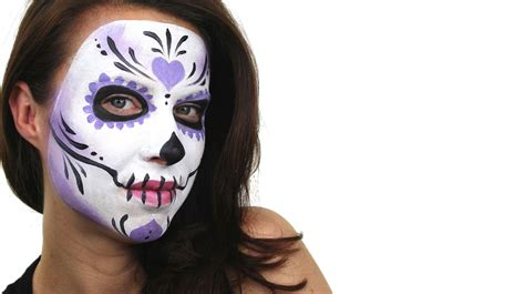 Beginners Sugar Skull Face Painting Tutorial