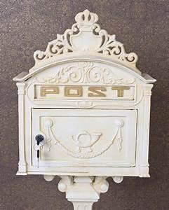 Briefkasten Shabby Chic : standbriefkasten gusseisen briefkasten antik postkasten ~ Watch28wear.com Haus und Dekorationen