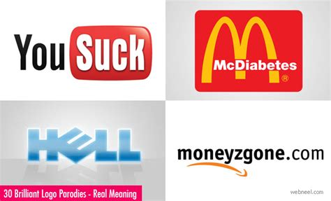 30 Brilliant Logo Parodies That Say The Real Meaning Of