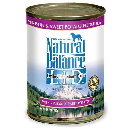 natural balance grain  canned dog food petmeds