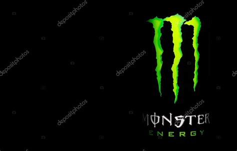 photo  monster energy drink stock editorial photo