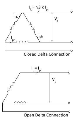 Wye Vt Wiring Diagram by What Is An Open Delta Transformer