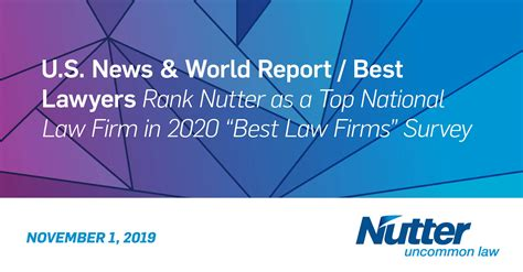 news world reportbest lawyers rank nutter   top