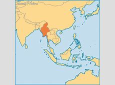 Where Is Myanmar Located On The World Map TravelsFinders