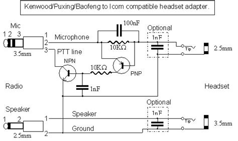 Baofeng Speaker Mic Wiring Diagram Well Interconnect