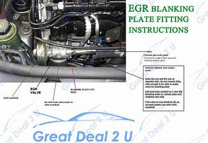 Egr Blanking Plate For Ford Px  U0026 Px2 Ii Ranger    Mazda Bt