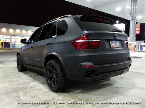 2009 Bmw X5 by 2009 Bmw X5 4 8is Wrapped In Matte Black By Dbx