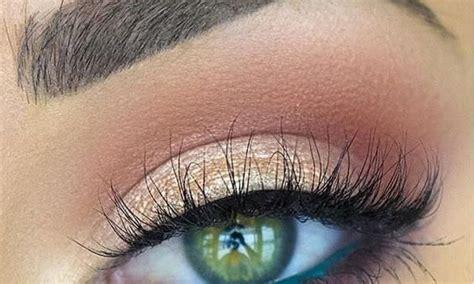 great eye makeup   green eyes fashion daily
