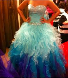 New Light Blue Tiered Skirt Ball Gown Prom Dresses,Sweetheart Beaded Purple Tulle Quinceanera Dresses Evening Gowns,Layers Evening Quinceanera DresS from Dresscomeon