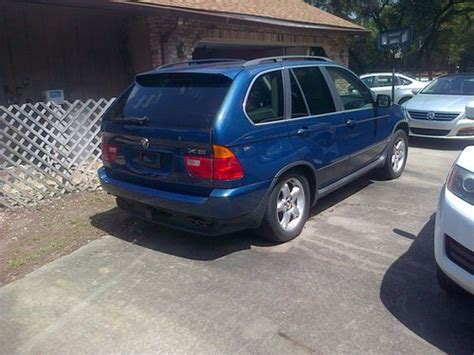 Sell Used 2003 Bmw X5 4.4i Sport Utility 4-door 4.4l In