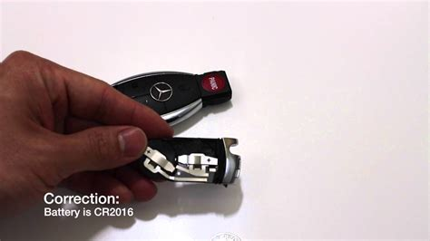 Mercedes Key Fob/ Remote Battery Replacement (keyless Go