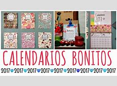 DIY! 3 Calendarios Originales y Fáciles Ame Mayén YouTube