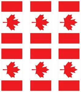 Free Printable Canadian Flag