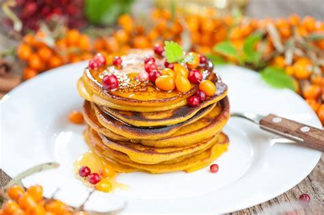 Jauna brokastu ideja - Ķirbju un kanēļa pankūkas
