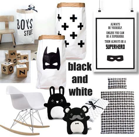 zwart wit babykamer accessoires babylabel