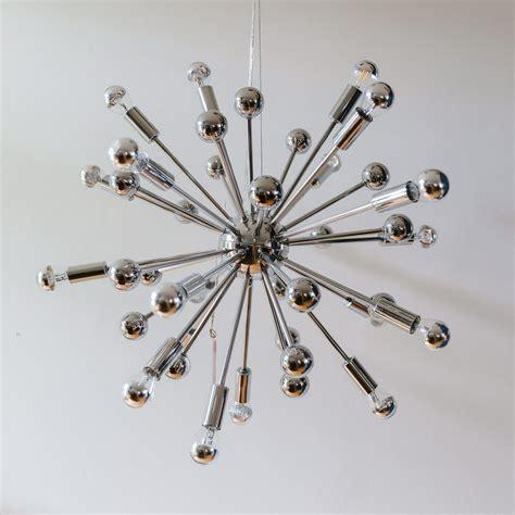 Sputnik chandelier, 1960s | #96637