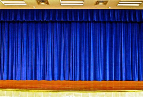 blue stage curtains www imgkid the image kid has it
