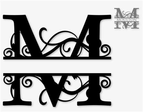 transparent  split monogram sds  split monogram split letter monogram  pngkit