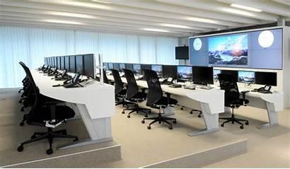 Office Control Noc Desk Furniture Computer Modern