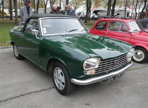Peugeot 204 Cars Classic French Cabriolet Convertible