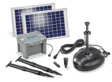 solar teichpumpe mit akku solar teichpumpe mit akku 20w solarpumpe gartenteichpumpe