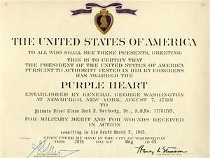 meritorious service medal template16 images of msm With purple heart citation template