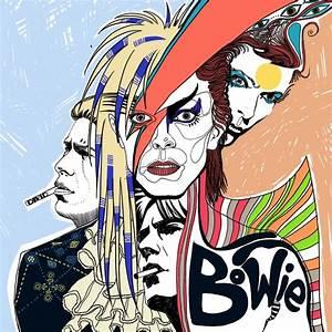 82 Best Images About David Bowie IsFan Art On Pinterest