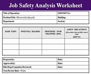 image gallery osha jsa template With osha risk assessment template