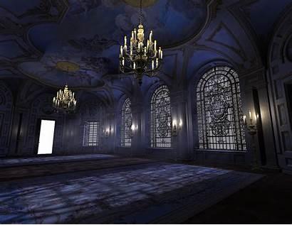 Ballroom Deviantart Goth Dark Gothic Anime Castle