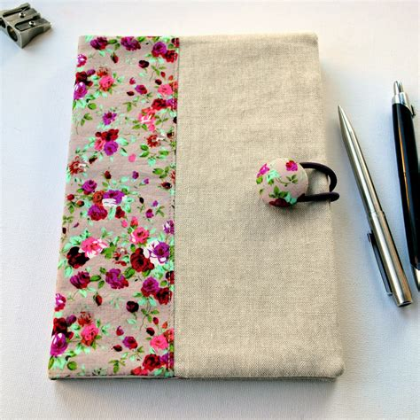 Sewforsoul Fabric Notebook Cover Tutorial