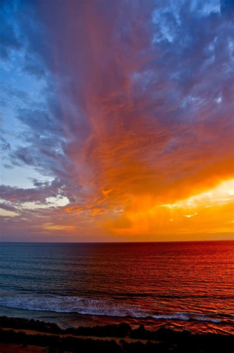 Virga Beach Epic Sunset San Diego California