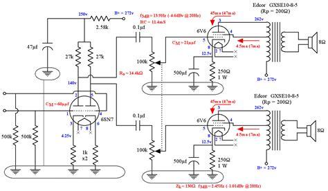 diy  se ul tube amplifier schematic lacewood