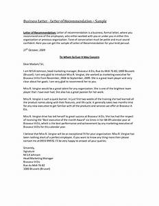 best photos of business reference letter samples With recommendation letter for a company template