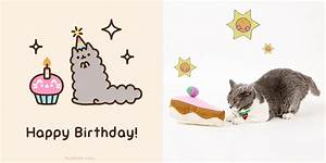 Top Pusheen The Cat Birthday Wallpapers