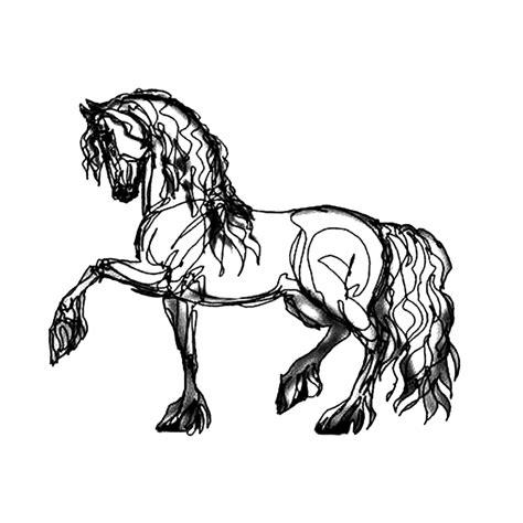 Kleurplaat Paardenb by Leuk Voor Paarden 0023