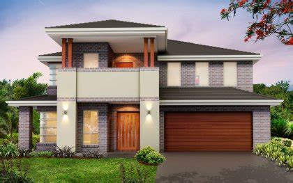 home builders dynasty double storey home designs