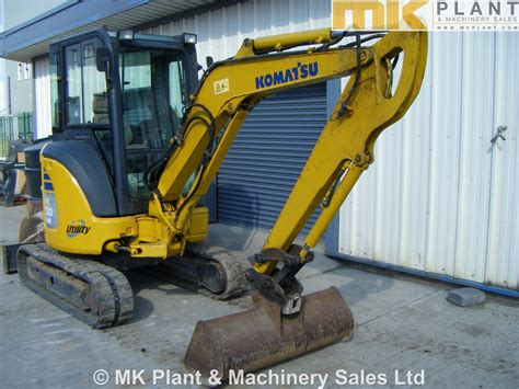komatsu pcmr  mini excavator mk plant
