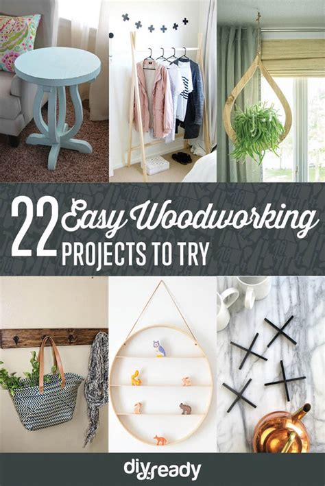 easy woodworking projects craft ideas diy ready