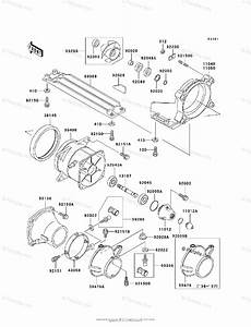 Kawasaki Jet Ski 1996 Oem Parts Diagram For Jet Pump