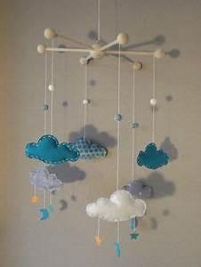 Mobile Bébé Nuage : turquoise papillons and inspiration on pinterest ~ Teatrodelosmanantiales.com Idées de Décoration